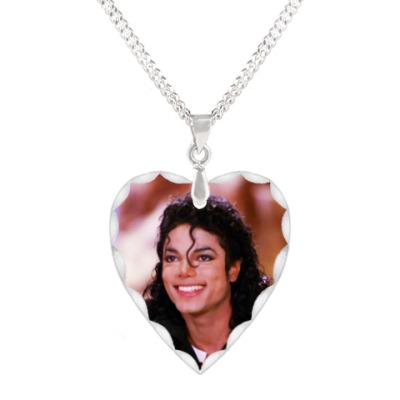 Кулон 'сердце' LOVE MJ