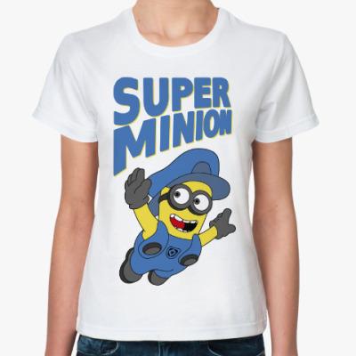 Классическая футболка Супер Миньон