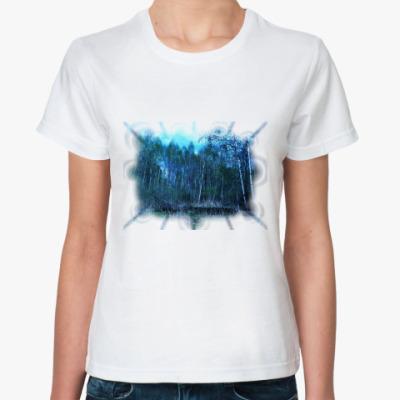 Классическая футболка природа