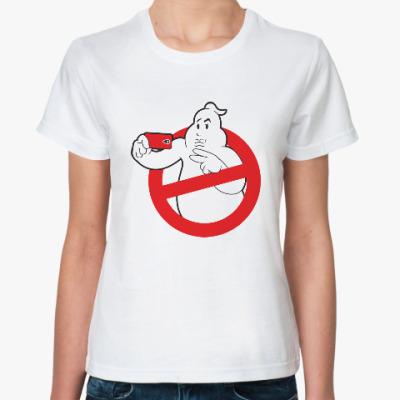 Классическая футболка Ghost Busters Selfie