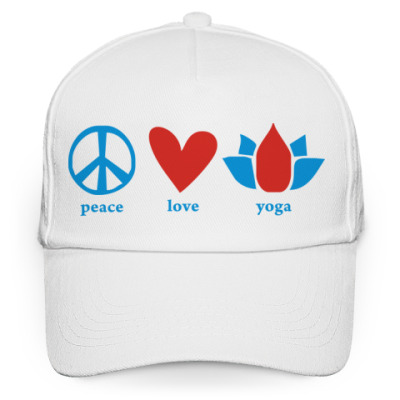 'Peace, love, yoga'