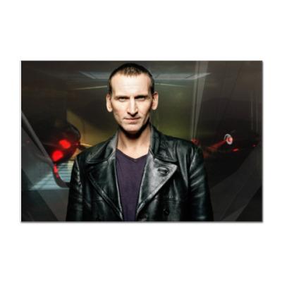 Наклейка (стикер) Девятый Доктор