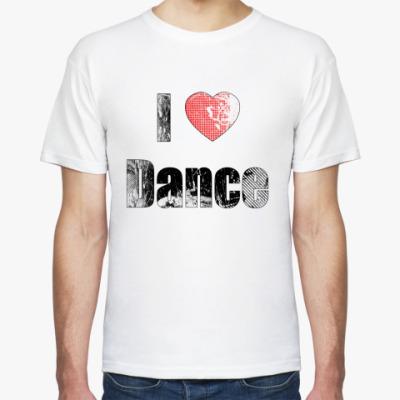 Футболка I Love Dance