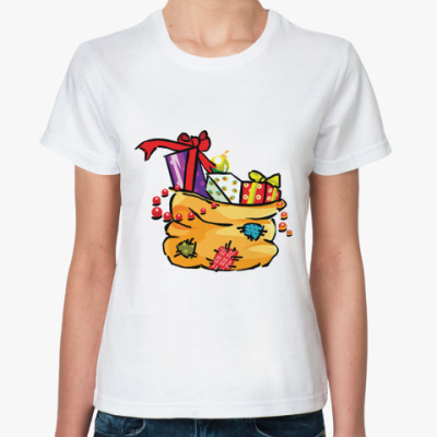 Классическая футболка Лучший твой подарочек - это Я