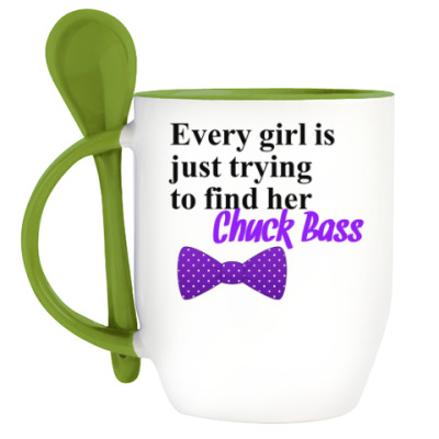 Кружка с ложкой Every Girl