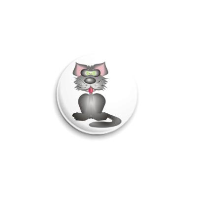Значок 25мм The Cat