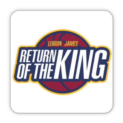 Костер (подставка под кружку) Возвращение короля