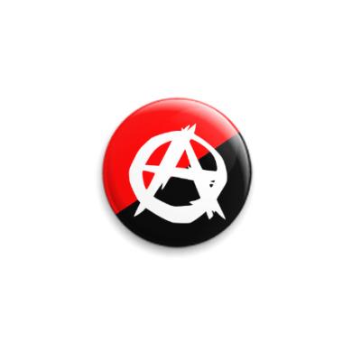 Значок 25мм Анархо-Коммунизм