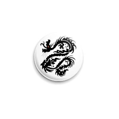 Значок 25мм Dragon