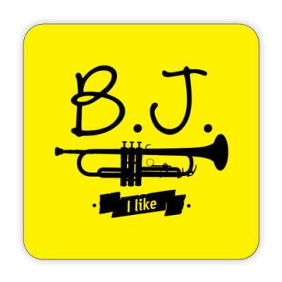 Костер (подставка под кружку) B.J. I like