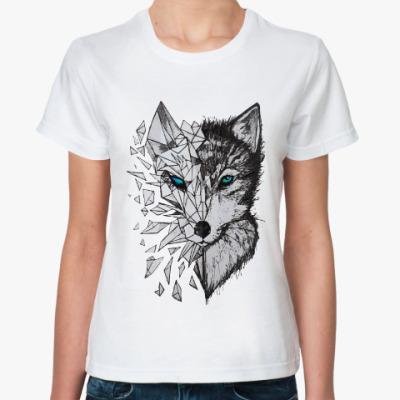 Классическая футболка Хаски