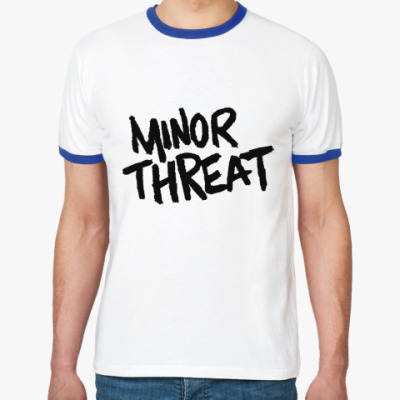 Футболка Ringer-T  Minor Threat