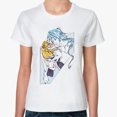 Классическая футболка Золотая рыбка