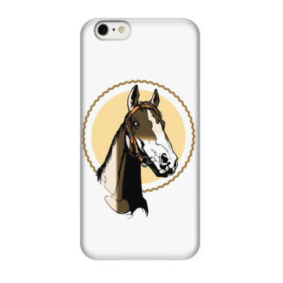 Чехол для iPhone 6/6s лошадь