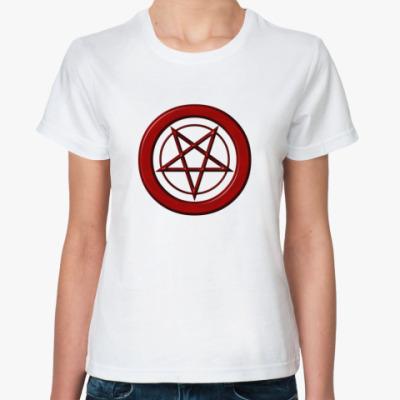 Классическая футболка пентаграмма
