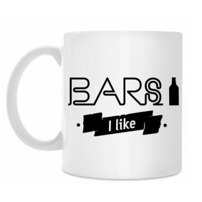 Кружка 'Bars I like'