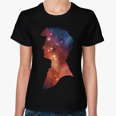 Женская футболка David Tannant
