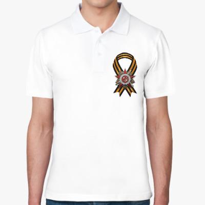 Рубашка поло День победы 9 мая Лента Орден