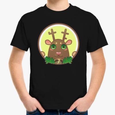 Детская футболка In the woods (в лесу)