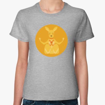 Женская футболка Animal Zen: K is for Kangaroo