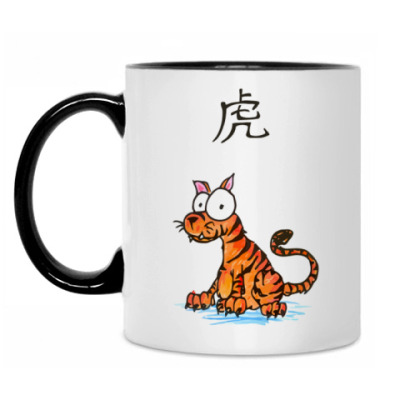 Кружка Chinese Tiger