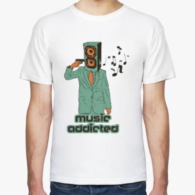 Футболка Music addicted