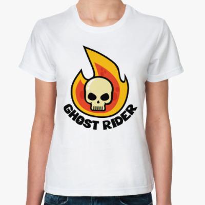 Классическая футболка Призрачный Гонщик
