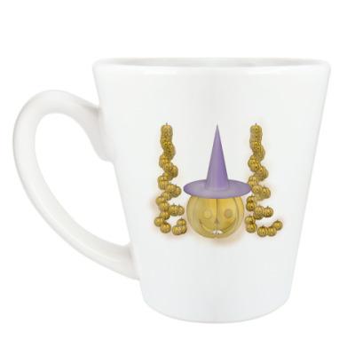 Чашка Латте Тыква в шляпе
