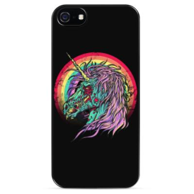 Чехол для iPhone Зомби единорог