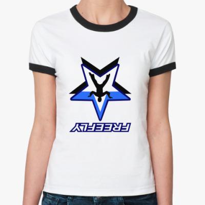 Женская футболка Ringer-T FREEFLY