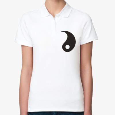 Женская рубашка поло Инь.