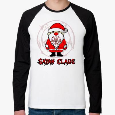 Футболка реглан с длинным рукавом Satan Claus