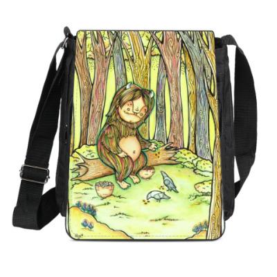Сумка-планшет Лесной тролль