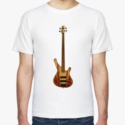 Футболка Бас гитара