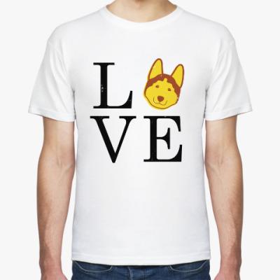 Футболка Желтая собака на Новый год!