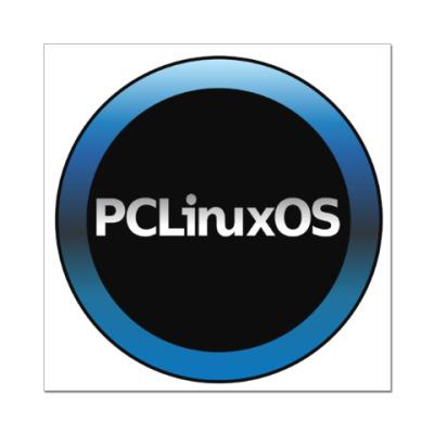 Наклейка (стикер) PCLinuxOS