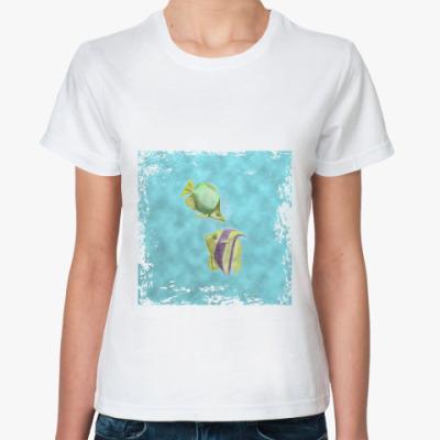 Классическая футболка Рыбки