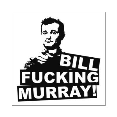 Наклейка (стикер) Билл Мюррей
