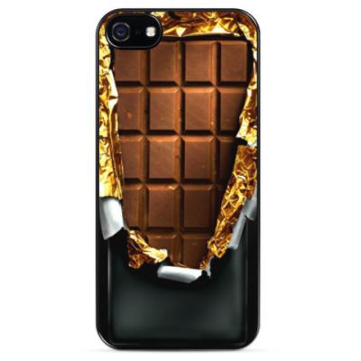 Чехол для iPhone Chocolate in gold