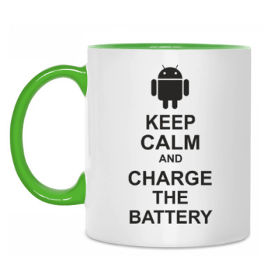 Кружка Charge the battery