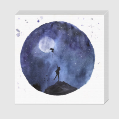 Холст Дотянуться до луны