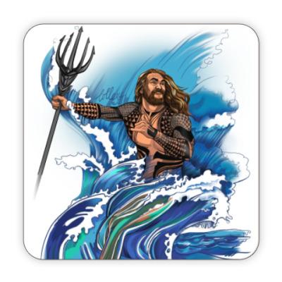 Костер (подставка под кружку) Jason Momoa as Aquaman
