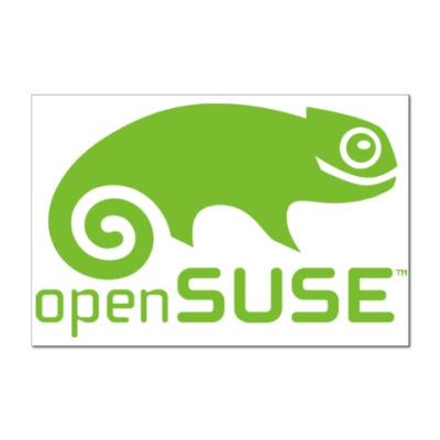 Наклейка (стикер) OpenSUSE