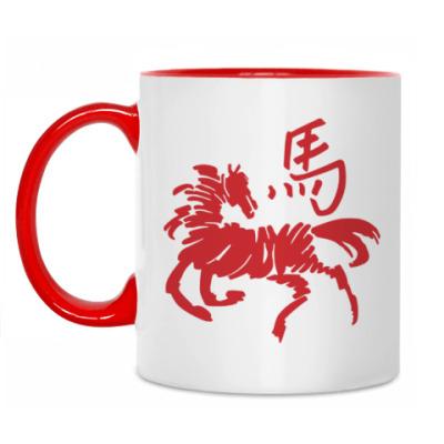 Кружка Символ лошади
