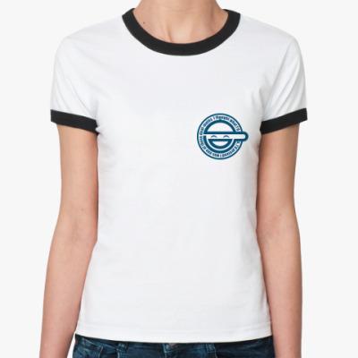 Женская футболка Ringer-T   Gits