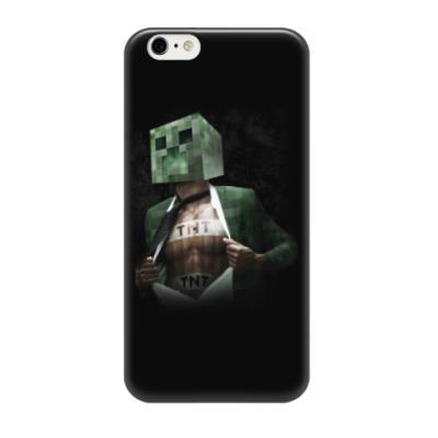 Чехол для iPhone 6/6s Minecraft creeper