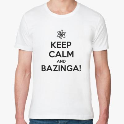Футболка из органик-хлопка BAZINGA!
