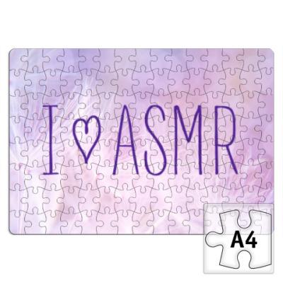 Пазл Я люблю ASMR (перо)