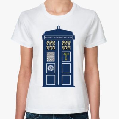 Классическая футболка Superwholock