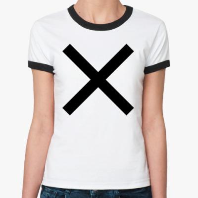 Женская футболка Ringer-T Крест